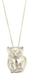 Tiffany & Co. #18998 Tiffany & Co. Bear Pendant Sterling Silver Necklace
