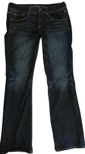 American Eagle Outfitters Kick Kick Stretch Boot Cut Jeans-Dark Rinse