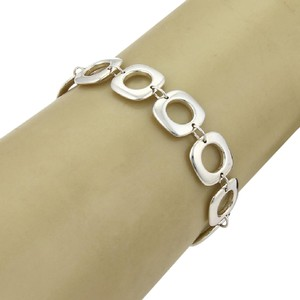Tiffany & Co. Tiffany & Co. Sterling Cushion Square Link Toggle Clasp Bracelet