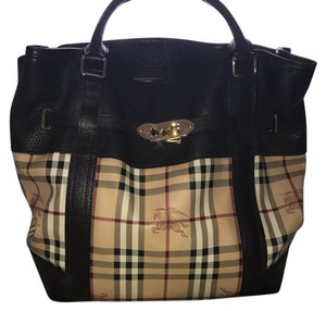 Burberry Satchel Satchel in brown tan