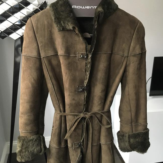 Banana Republic Fur Coat Image 10