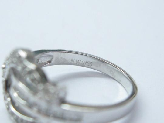 Other 18Kt Round & Baguette Multi Shape Diamond Ring WG .60CT Image 1