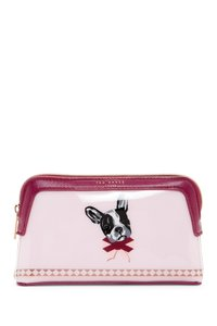 Ted Baker Ted Baker London Cotton Dog Print Makeup Bag