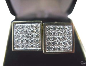 Other Fine Dice Diamond Yellow Gold Earrings Yellow Gold 14KT 1.14Ct