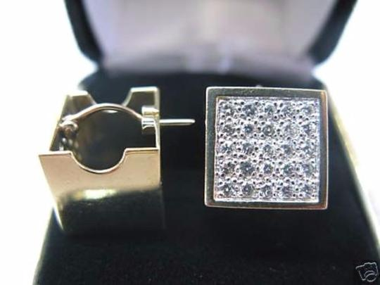 Other Fine Dice Diamond Yellow Gold Earrings Yellow Gold 14KT 1.14Ct Image 2