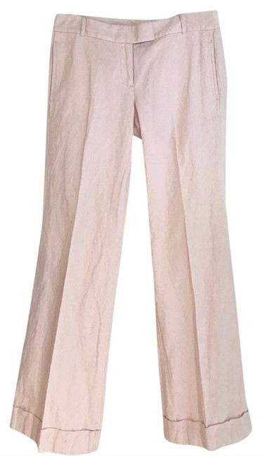 Preload https://img-static.tradesy.com/item/21145293/jcrew-pink-light-wash-bell-bottom-flare-leg-jeans-size-29-6-m-0-1-650-650.jpg