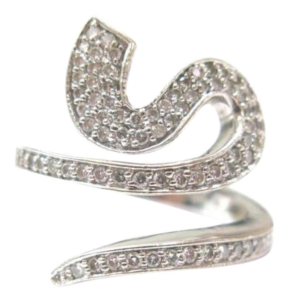 diamond cocktail white snake pin il bruni ring pasquale peccato gold