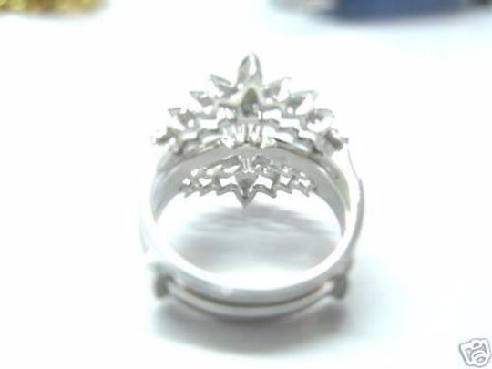 Other Fine Solitaire Wide Diamond Ring White Gold 14KT 0.50CT Image 3