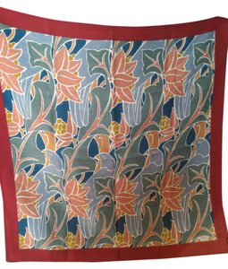Liberty of London Liberty of London Vintage 100% Wool Colorful Parrot Scarf