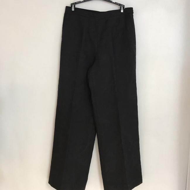 Talbots Straight Pants Black Image 1