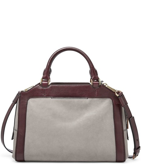 Fossil Satchel in Grey Image 2
