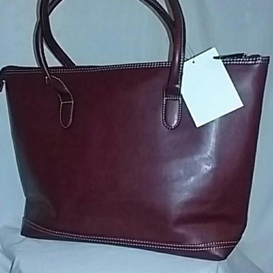 CLASSIC WORK TOTE Tote in BURGANDY Image 1