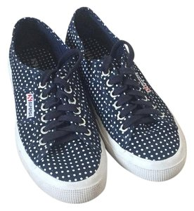 Superga navy and white Athletic
