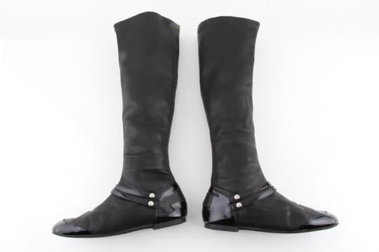 Chanel Black Boots Image 7