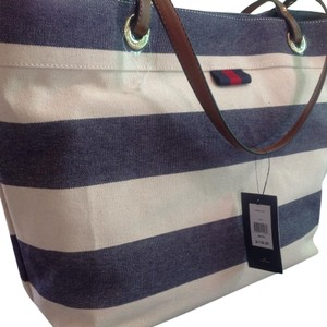 Tommy Hilfiger Navy/Natural Travel Bag