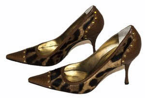 Dolce&Gabbana brown / gold / tan Pumps