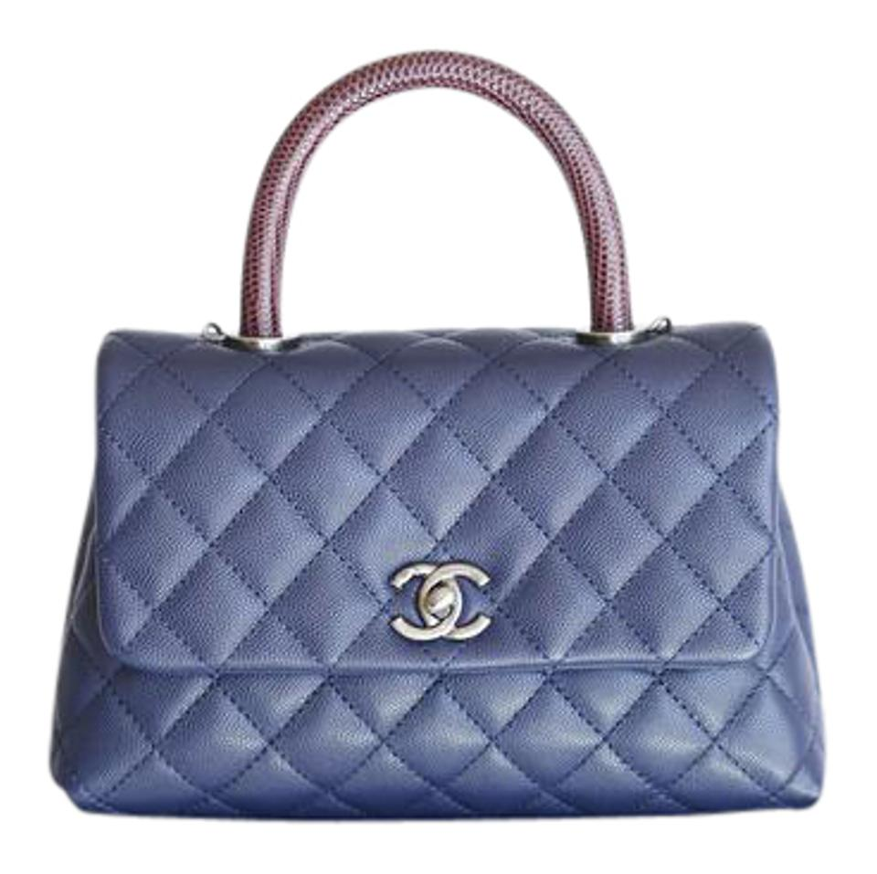 6b19eef9133eed Chanel Flap Caviar Quilted Classic Coco Handle Shoulder Bag Image 0 ...
