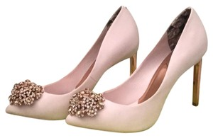 Ted Baker Nude, Off White, Rose Gold Pumps