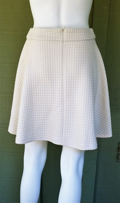 Banana Republic Circle Quilted A-line Skirt Ivory Image 2