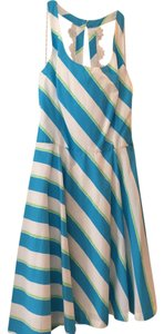 Lilly Pulitzer short dress White, Blue and Green on Tradesy