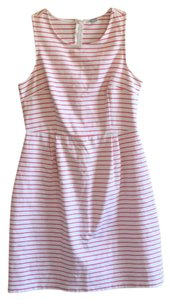 Old Navy short dress white, pink on Tradesy