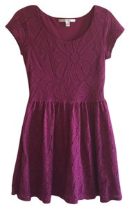 LC Lauren Conrad short dress magenta on Tradesy