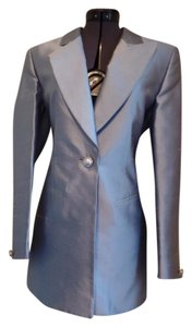 Escada Raw Silk Blazer and Skirt