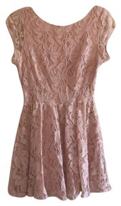 I Love H81 short dress blush on Tradesy