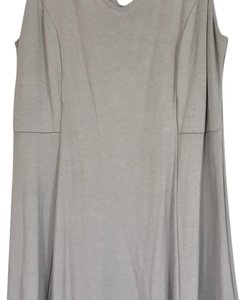Donna Ricco short dress Light grey on Tradesy