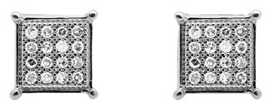 Other 6MM Sharp Square Kite Genuine Diamond Stud Earring 0.15Ct.