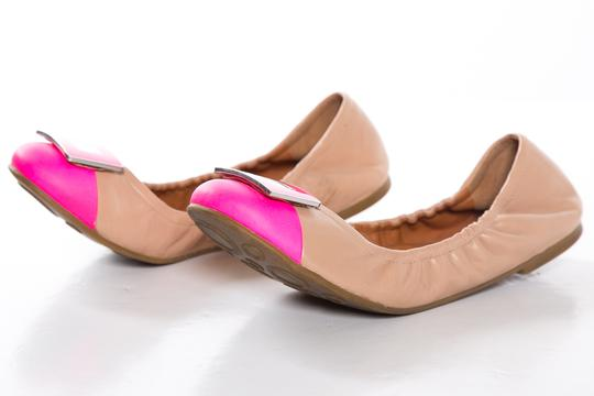 Marc by Marc Jacobs Pink and Tan Flats Image 1