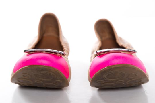 Marc by Marc Jacobs Pink and Tan Flats Image 2