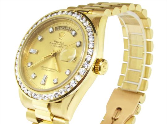 Rolex 36MM 18038 Presidential Day-Date Diamond 3.5 Ct Image 1