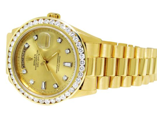 Rolex 36MM 18038 Presidential Day-Date Diamond 3.5 Ct Image 3
