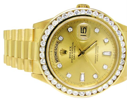 Rolex 36MM 18038 Presidential Day-Date Diamond 3.5 Ct Image 5