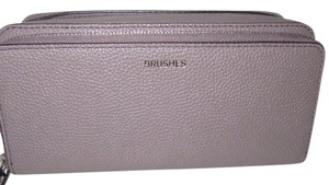 Michael Kors Cosmetic Make Up Organization Small Wristlet in Cinder