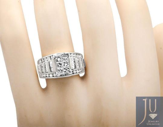Other Princess/Round/Baguette Engagement Wedding Diamond Ring 2.0ct Image 2