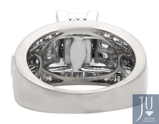 Other Princess/Round/Baguette Engagement Wedding Diamond Ring 2.0ct Image 3