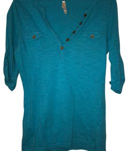Color Story T Shirt Turquoise