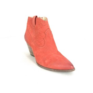 Frye Leather Western Coral Boots