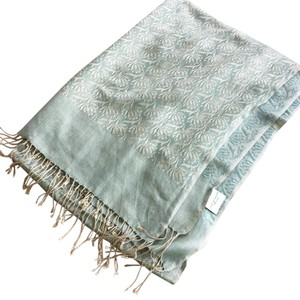 Lord & Taylor Fringe Floral Scarf and Wrap