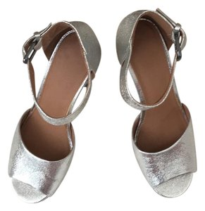 Urban Outfitters metallic silver Formal
