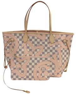 Louis Vuitton Tahitienne Tahi Neverfull Ballerine Tote in Rose