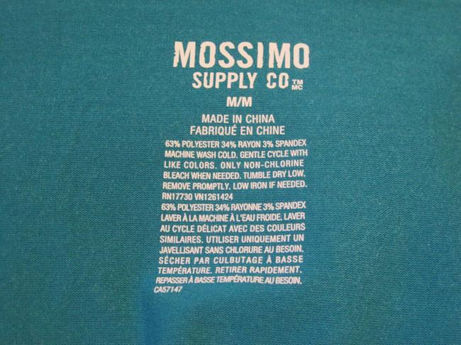 Gray/Teal Maxi Dress by Mossimo Supply Co. Maxi Scoop Neck Fitted Image 4