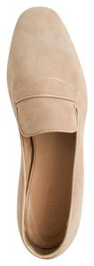 J.Crew Penny Loafers Suede Geniune Sandy Brown Flats