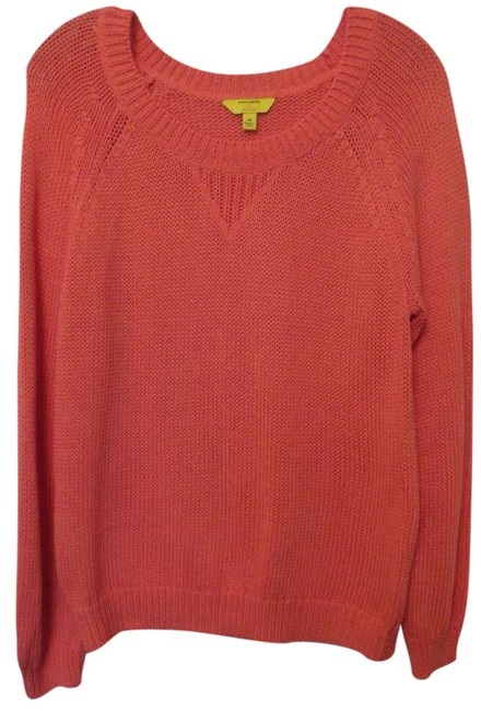 Preload https://img-static.tradesy.com/item/21147070/banana-republic-coral-milly-collaboration-oversized-cotton-sweaterpullover-size-8-m-0-1-650-650.jpg