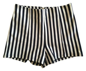 Forever 21 High Shorts blue and white