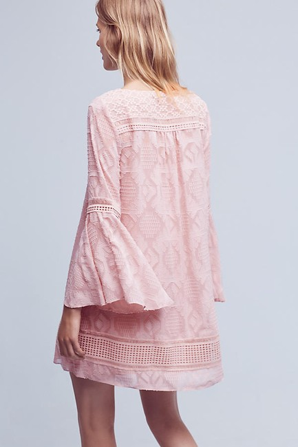 Anthropologie short dress Pink Swing Embroidered on Tradesy Image 2