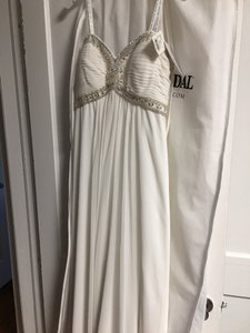 DB Studio Strapless Empire Wedding Dress