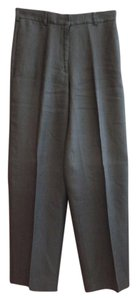 DKNY Spring Summer Lightweight Casual Comfortable Wide Leg Pants Black